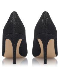 Carvela Kurt Geiger Black Kray Stiletto Heel Occasion Court Shoes