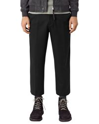 AllSaints | Black Tallis Trousers for Men | Lyst