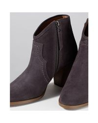 Jigsaw Multicolor Cara Block Heeled Ankle Boots