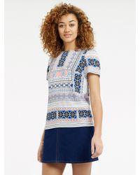 Oasis   Blue Cancun Beach T-shirt   Lyst