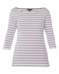 French Connection Multicolor Eso Tim Tim Striped Top