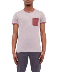 Ted Baker Multicolor Hicks Spot Geo Print T-shirt for men