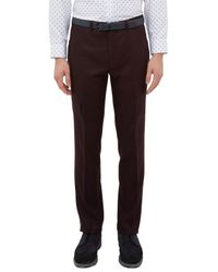 Ted Baker Red Austro Trousers for men