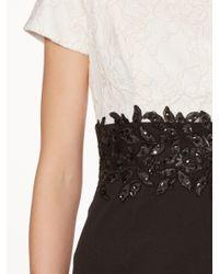 John Lewis Black Gina Bacconi Rebecca Contrast Beaded Dress