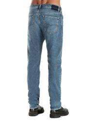 DIESEL Blue Buster 084ef Tapered Jeans for men