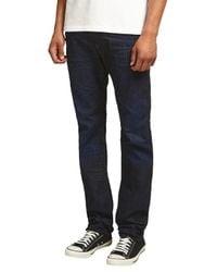 DIESEL Blue Buster Tapered Jeans for men