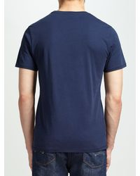Levi's - Blue Graphic Batwing T-shirt for Men - Lyst