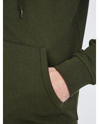 Lyle & Scott Green Zip Through Hoodie for men