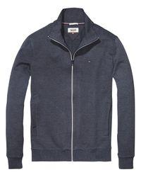 Hilfiger Denim Blue Jersey Jacket for men