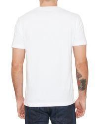 Original Penguin White 3d Pete T-shirt for men