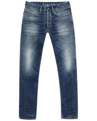 Denham Blue Drill Ava 1901 Jeans for men