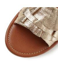 Steve Madden Multicolor Get Down Slider Sandals