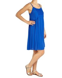 Ghost - Blue Nicola Dress - Lyst