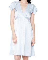 Ghost Blue Anais Dress