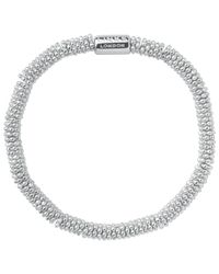 Links of London - Metallic Effervescence Sterling Silver Stretch Bracelet - Lyst