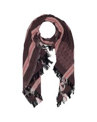 French Connection Multicolor Dona Jacquard Scarf
