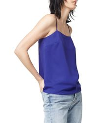 Warehouse - Blue Square Neck Cami - Lyst