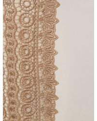 Phase Eight Natural Lucetta Lace Front Dress