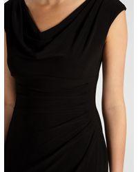 Lauren by Ralph Lauren Black Valli Dress