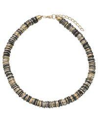 John Lewis - Metallic Multi Rings Necklace - Lyst