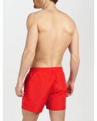 Paul Smith Red Classic Swim Shorts for men