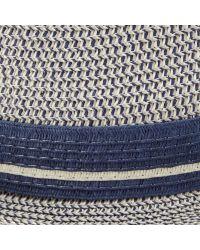 John Lewis Natural Three Twist Trilby Hat for men