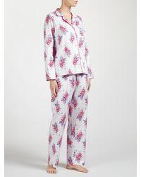 John Lewis Multicolor Leila Floral Print Pyjama Set