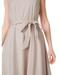 Precis Petite Multicolor Linen Blend Belted Dress