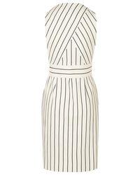 L.K.Bennett Multicolor Jenna Stripe Cotton Dress