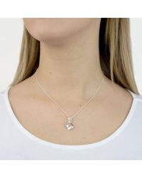 Georg Jensen - Metallic Infinity Pendant Necklace - Lyst