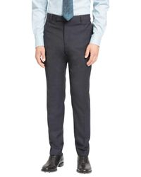 John Lewis - Blue Jaeger Super 100s Wool Mouline Slim Fit Suit Trousers for Men - Lyst