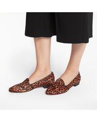 John Lewis - Brown Ginny Loafers - Lyst