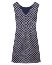 Gerard Darel Blue Dalia Dress