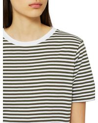 SELECTED White My Perfect Stripe T-shirt