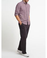 John Lewis - Multicolor Gingham Melange Check Shirt for Men - Lyst