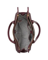 Kate Spade Purple Cameron Street Jensen Leather Shoulder Bag