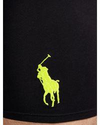 Ralph Lauren Black Polo Classic Trunks for men