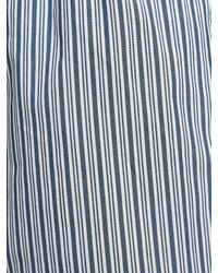 John Lewis Blue Milton Woven Cotton Boxers for men