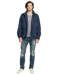 Denim & Supply Ralph Lauren Blue Denim & Supply Field Jacket for men