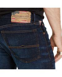 Denim & Supply Ralph Lauren Blue Slim Fit Jeans for men