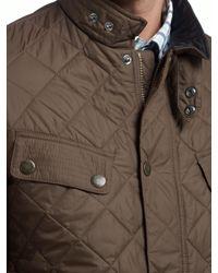 Barbour Multicolor Ariel Profile Quilted Jacket for men