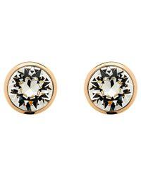 Melissa Odabash - Pink Swarovski Crystal Stud Earrings - Lyst
