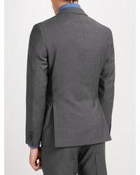Richard James Gray Tonic Sheen Slim Suit Jacket for men