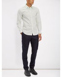 Jaeger Multicolor Cotton Twill Shirt for men