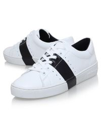 MICHAEL Michael Kors White Brady Trainers for men