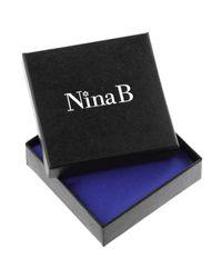 John Lewis Metallic Nina B Sterling Silver Flower Stud Earrings