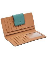 Fossil Multicolor Emma Leather Rfid Tab Clutch Purse