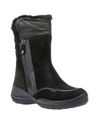 Geox | Black Hellin Amphibiox Hiking Ankle Boots | Lyst