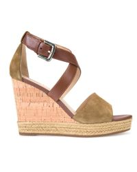 Geox Multicolor Janira Wedge Heeled Sandals