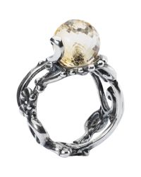Trollbeads | Multicolor Citrine Facet Ring | Lyst